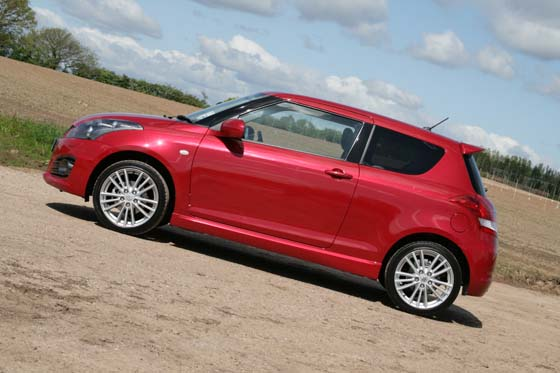 Suzuki Swift Sport Side Profile