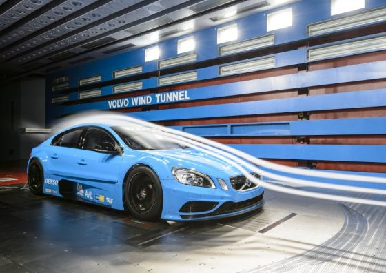 Volvo S60 TTA Wind Tunnel