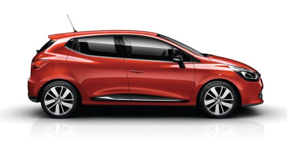 2013 Renault Clio Side