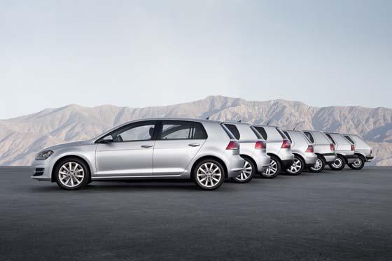 Volkswagen Golf Generations