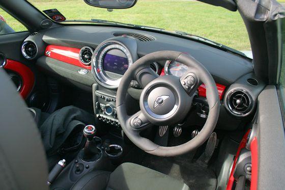 MINI John Cooper Works Roadster Interior
