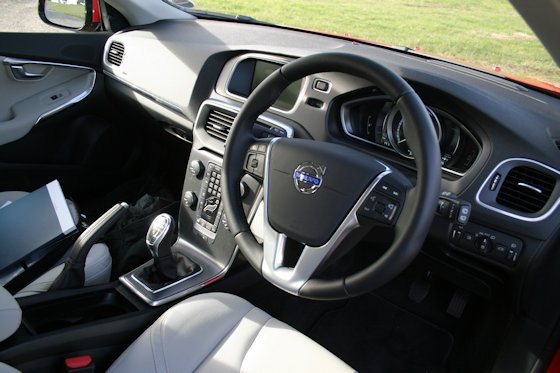 Volvo V40 D2 Dashboard