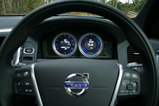 Volvo XC60 D5 Polestar Instrument Display