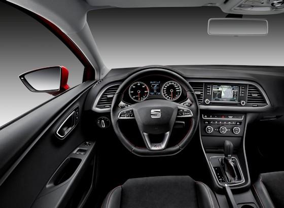 SEAT Leon SC FR Interior