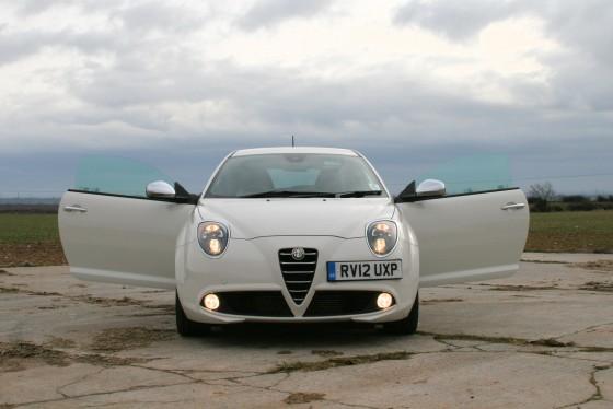 Alfa Romeo MitoCloverleaf Front