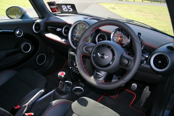 MINI John Cooper Works GP Interior