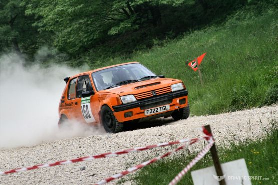 Dukeries Rally - Peugeot 205 GTI