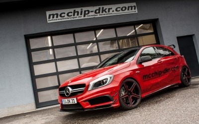 Mcchip-DKR Release More Power From A45 AMG