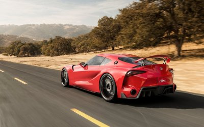 Drive Toyota's FT-1 Concept Now