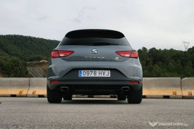 SEAT Leon Cupra 280 5-door Rear (2014)