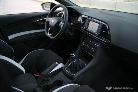 SEAT Leon Cupra 280 5-door Dashboard (2014)