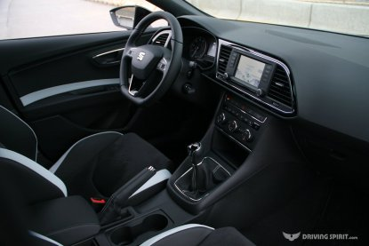 SEAT Leon Cupra 280 5-door Dashboard (2014)