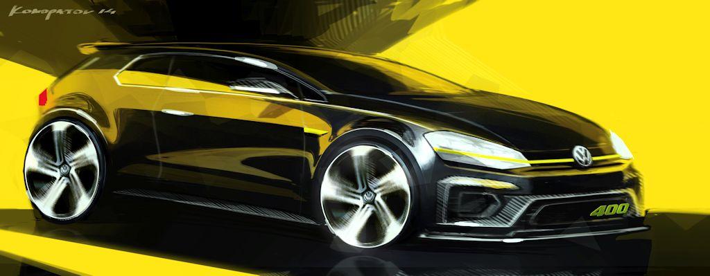 Volkswagen Golf R 400 Concept