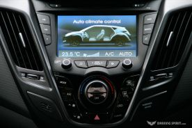 Hyundai Veloster Turbo Screen