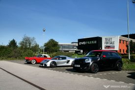 Car Cafe - Ford Thunderbird, Lotus Exige, MINI Paceman