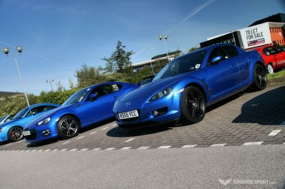 Car Cafe - RX7 Meets BRZ