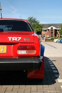 Car Cafe - Triumph TR7 V8 Rally Replica