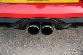 Porsche Boxster 981 Sports Exhaust