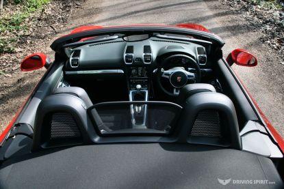 Porsche Boxster 981 Cabin