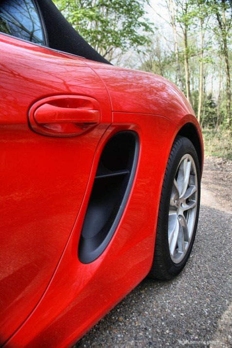 Porsche Boxster 981 Side Air Scoop