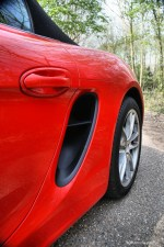 Porsche Boxster 981 Side Air Scoop