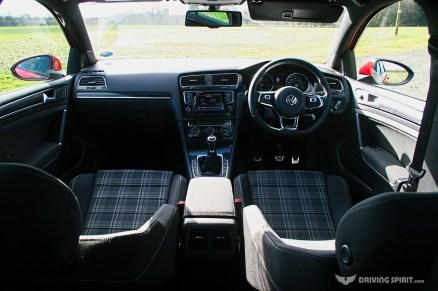 Volkswagen Golf GTD Interior (2014)