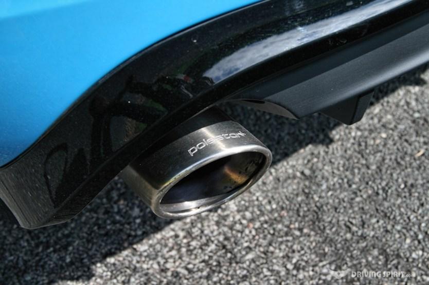 Volvo V60 Polestar Exhaust