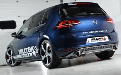Milltek Sport Exhaust For Golf GTI Mk7