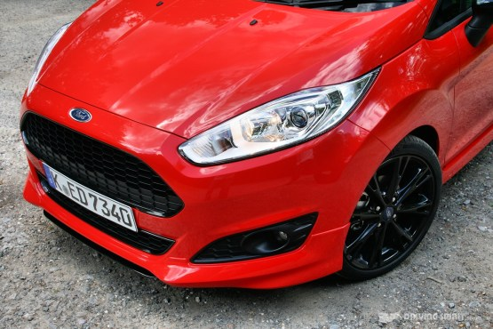 Ford Fiesta Zetec S Red Front Bumper