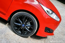 Ford Fiesta Zetec S Red Wheel