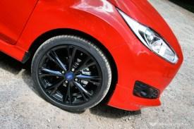 Ford Fiesta Zetec S Red Wheel