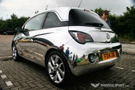Chrome Vauxhall Adam
