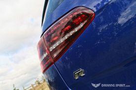Volkswagen Golf R Rear Light & Badge