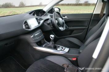 Peugeot 308 Feline Dashboard