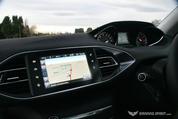 Peugeot 308 Touch Screen