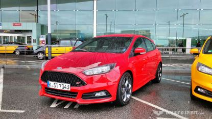 2015 Ford Focus ST - Race Red