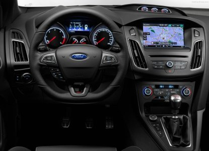 2015 Ford Focus ST Dashboard