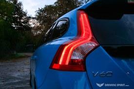 2014 Volvo V60 Polestar Estate Rear Light