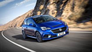 2015 Vauxhall Corsa VXR Front Tracking