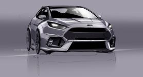 2016 Ford Focus RS Sketch