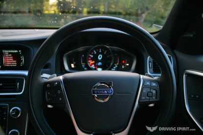 Volvo V60 Polestar Estate Steering Wheell