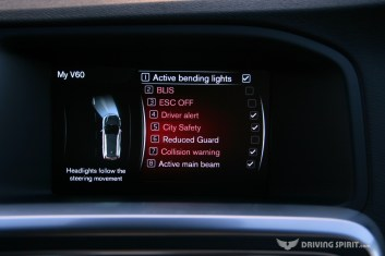 Volvo V60 Polestar Estate Safety Technology