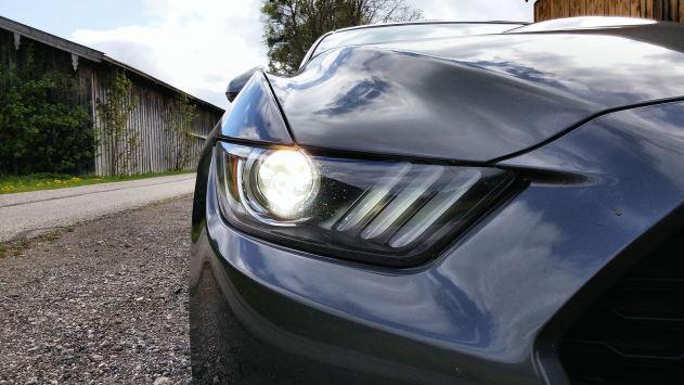 Ford Mustang Convertible Headlight 2015 01