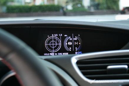 Honda Civic Type R Interior G Meter 2015-01