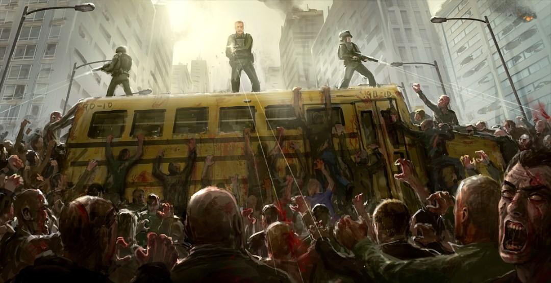 Zombie Horde By Joakim Olofsson