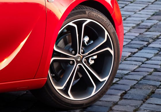 Astra GTC BiTurbo Wheels