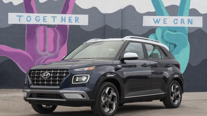 2020 Hyundai Venue Exterior