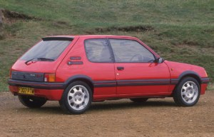 86-peugeot-205-gti in red