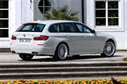 BMW alpina b5 in white