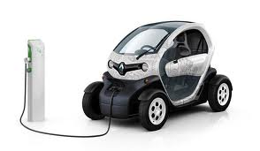 Renault Twizy being recharged